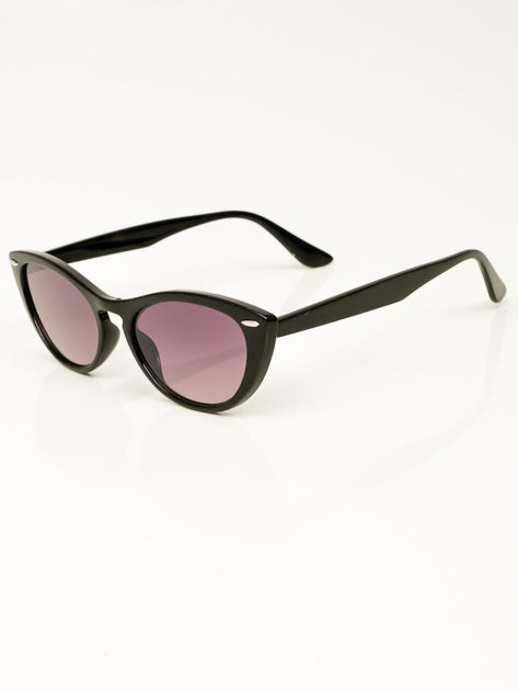 Damskie okulary przeciwsłoneczne typu CAT EYE                              zdj.                              3