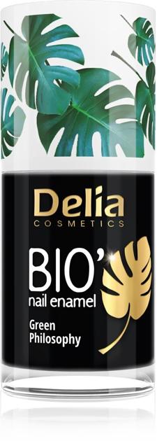 "Delia Cosmetics Bio Green Philosophy Lakier do paznokci nr 624 Night  11ml"""