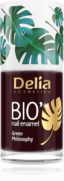 "Delia Cosmetics Bio Green Philosophy Lakier do paznokci nr 630 Smile  11ml"""