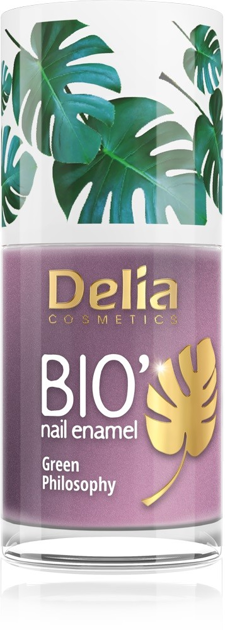 "Delia Cosmetics Bio Green Philosophy Lakier do paznokci nr 638 Escape  11ml"""
