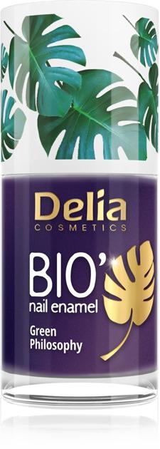 "Delia Cosmetics Bio Green Philosophy Lakier do paznokci nr 639 Cookie  11ml"""