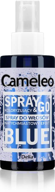 """Delia Cosmetics Cameleo Spray & Go Spray koloryzujący do włosów - BLUE  150ml"""""""