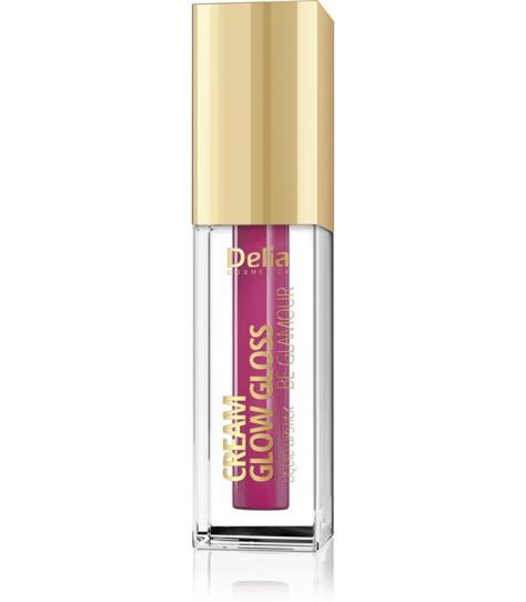 """Delia Cosmetics Cream Glow Gloss Pomadka w płynie nr 205 Show It  5ml"""""""