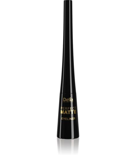 "Delia Cosmetics Shape Master Eyeliner matowy w płynie Perfect Matte - Brown 4ml"""