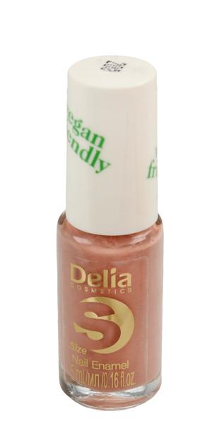"Delia Cosmetics Vegan Friendly Emalia do paznokci Size S nr 208 Tea Rose  5ml"""