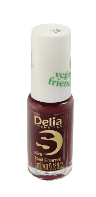 """Delia Cosmetics Vegan Friendly Emalia do paznokci Size S nr 224 Get Lucky  5ml"""""""