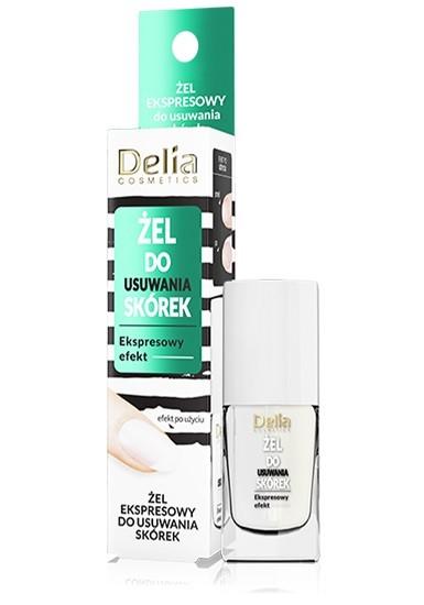 """Delia Cosmetics Żel ekspresowy do usuwania skórek  11ml"""""""