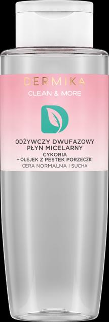 """Dermika Clean & More Odżywczy Dwufazowy Płyn micelarny - cera normalna i sucha 400ml"""""""