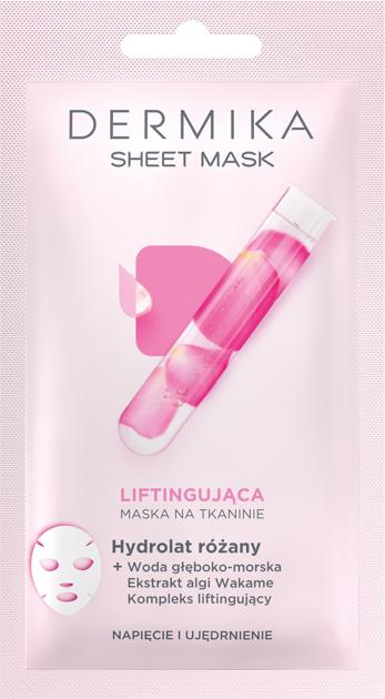 "Dermika Sheet Mask maska na tkaninie liftingująca  17g"""