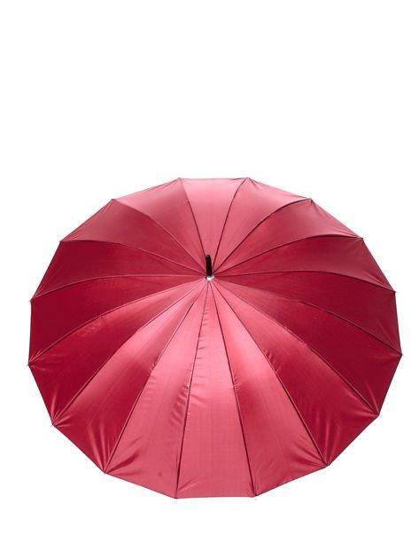 Długi bordowy parasol                              zdj.                              2