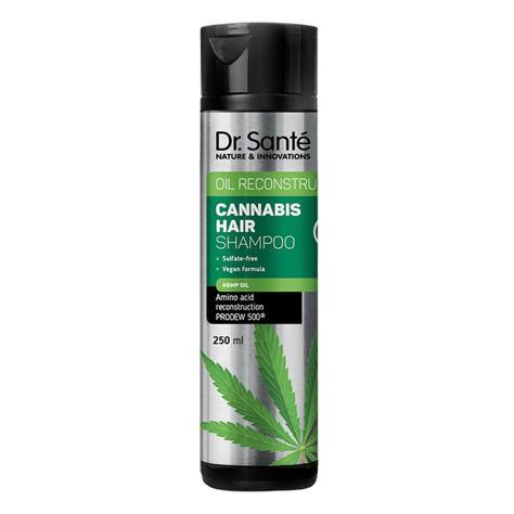"""Dr.Sante Cannabis Hair Szampon do włosów rewitalizujący 250ml"""""""