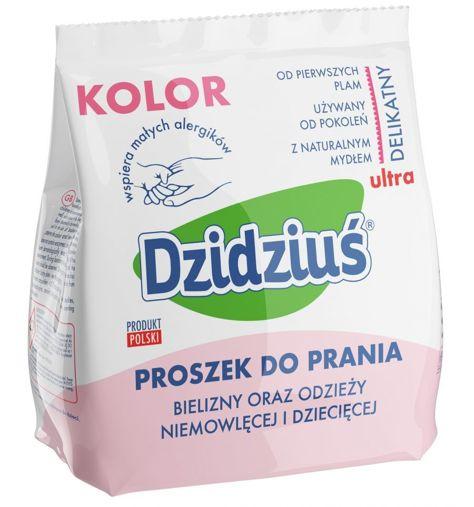 Dzidziuś Proszek do prania pieluszek, bielizny, odzieży niemowlęcej i dziecięcej Kolor 850 g                              zdj.                              1