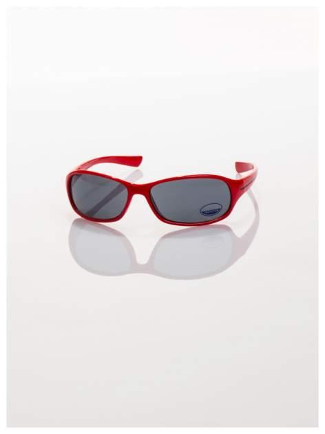 Dziecięce czerwone okulary przeciwsłoneczne z filtrami                                  zdj.                                  2