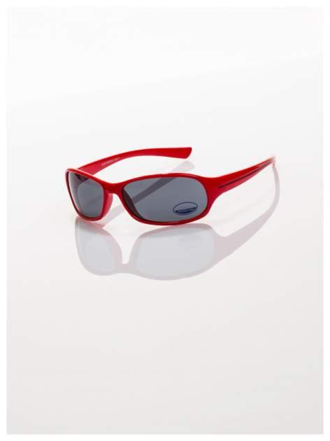 Dziecięce czerwone okulary przeciwsłoneczne z filtrami                                  zdj.                                  1