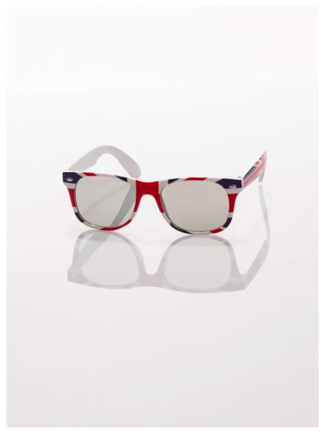 Dziecięce okulary z klasyczną oprawką WAYFARER NERD z filtrami odporne ne wyginania                                  zdj.                                  2