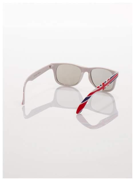 Dziecięce okulary z klasyczną oprawką WAYFARER NERD z filtrami odporne ne wyginania                                  zdj.                                  3