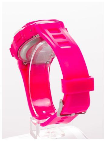 Dziecięcy zegarek sportowy wielofunkcyjny. Łatwy w obsłudze. Idealny dla dziecka. Wodoodporny. 2 kolory podświetlenia                                  zdj.                                  3