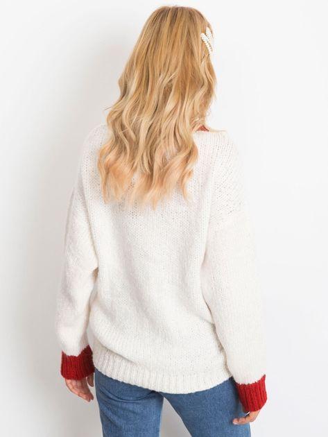 Ecru sweter Drive                              zdj.                              2
