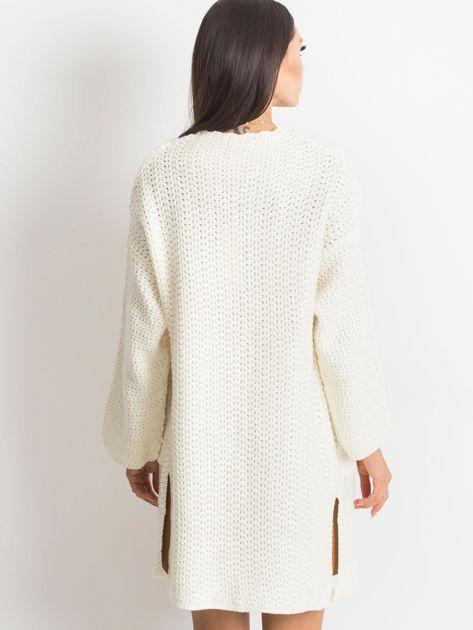 Ecru sweter Luna                              zdj.                              2