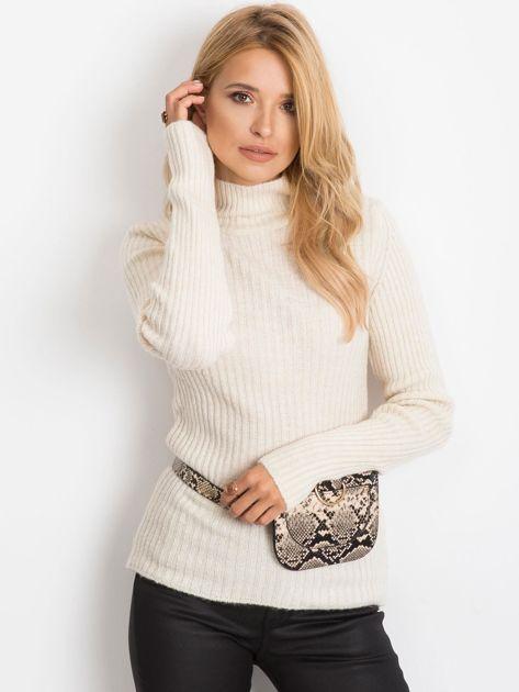Ecru sweter Milo                              zdj.                              5