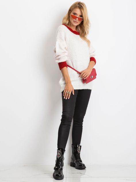 Ecru sweter Pretty                              zdj.                              4