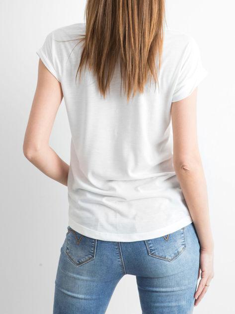 Ecru t-shirt Gorgeous                              zdj.                              2