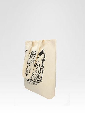 Ekotorba na zakupy z nadrukiem tygrysa                                  zdj.                                  3