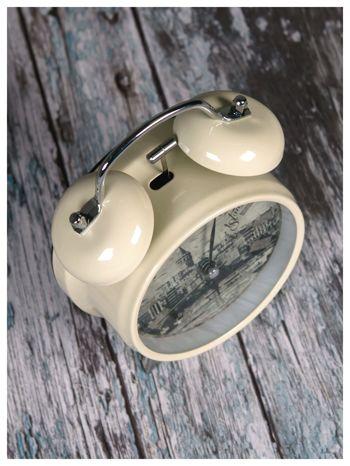 Elegancki i skuteczny :) BUDZIK zegarek stojący z lampką RETRO                               zdj.                              3