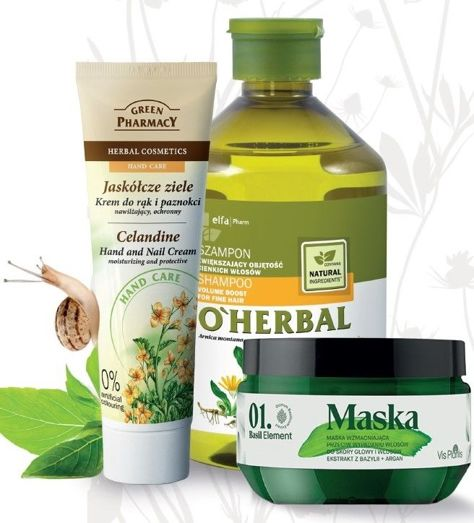 Elfa Pharm O'Herbal Odżywka do włosów cienkich i osłabionych z arniką 500 ml                              zdj.                              2
