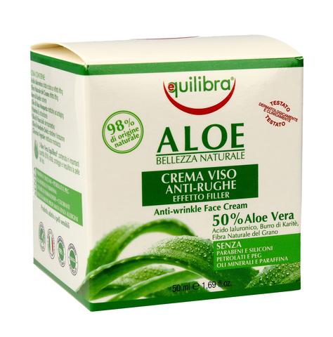 """Equilibra Aloe Krem przeciwzmarszczkowy 50% aloesu 50ml"""""""