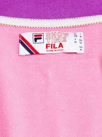 FILA Różowa sukienka sportowa z suwakiem                                  zdj.                                  4