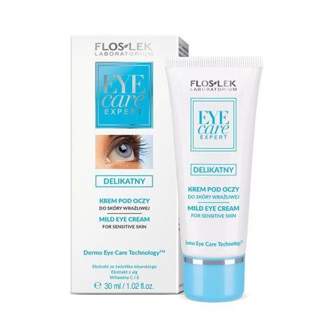 FLOSLEK Delikatny krem pod oczy do skóry wrażliwej  30 ml                              zdj.                              1