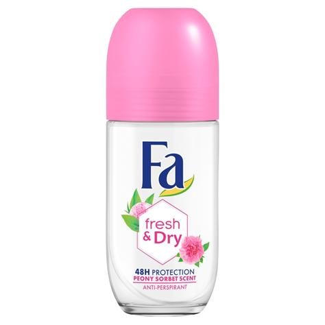 "Fa Fresh & Dry 48H Dezodorant roll-on Peony Sorbet 50 ml"""