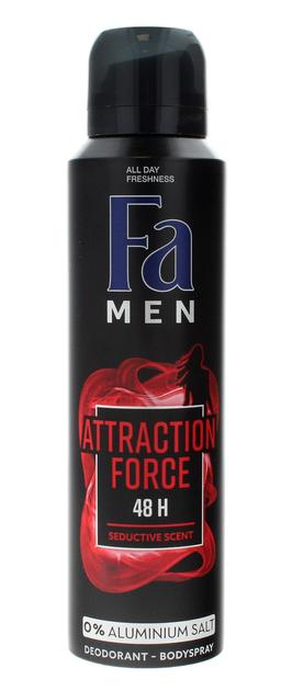 "Fa Men Attraction Force 48H Dezodorant w sprayu 150ml"""