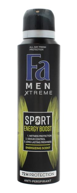 """Fa Men Sport Double Power Power Boost Dezodorant w sprayu 150ml"""""""