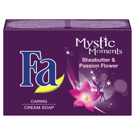 """Fa Mystic Moments Mydło w kostce Shea Butter & Passion Flower 90g"""""""