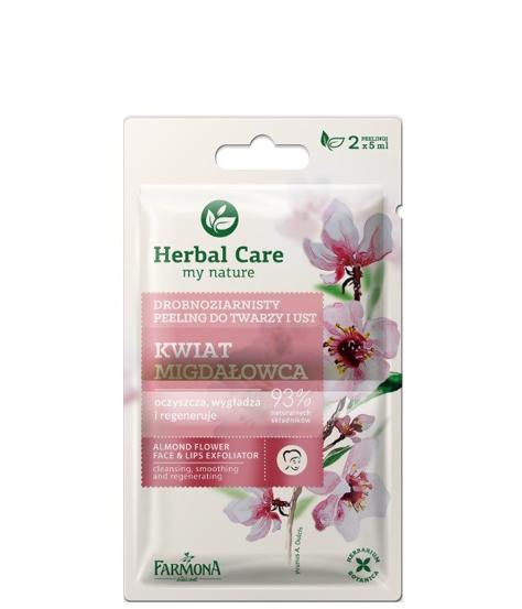 """Farmona Herbal Care Peeling drobnoziarnisty Kwiat Migdałowca -  saszetka 5ml x 2"""""""