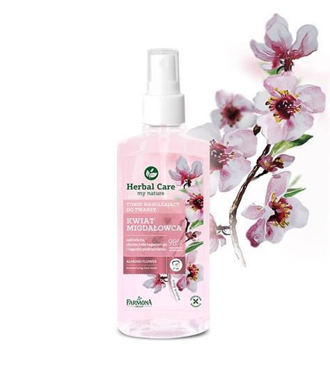"""Farmona Herbal Care Tonik nawilżający do twarzy Kwiat Migdałowca  200ml"""""""