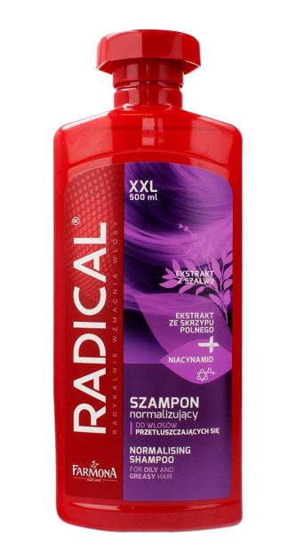 """Farmona Radical Szampon normalizujący do włosów przetłuszczających się  500ml"""""""