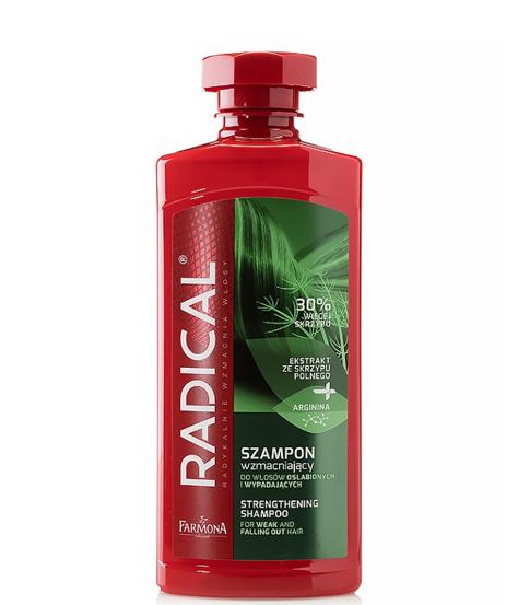 """Farmona Radical Szampon wzmacniający do włosów osłabionych i wypadających Skrzyp  400ml"""""""