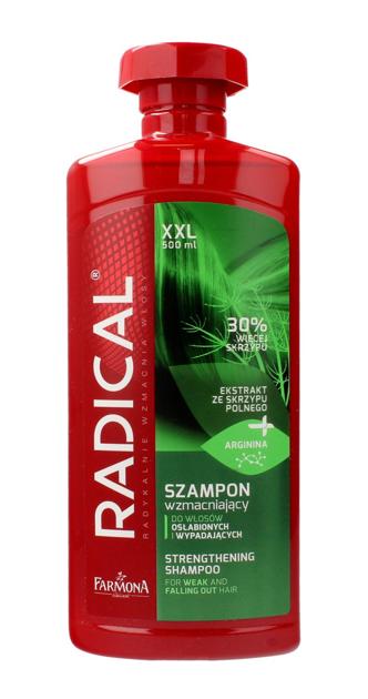 """Farmona Radical Szampon wzmacniający do włosów osłabionych i wypadających Skrzyp  500ml"""""""