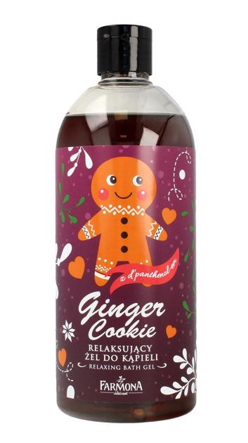 """Farmona Żel do kąpieli relaksujący Ginger Cookie- wersja świąteczna  500ml"""""""
