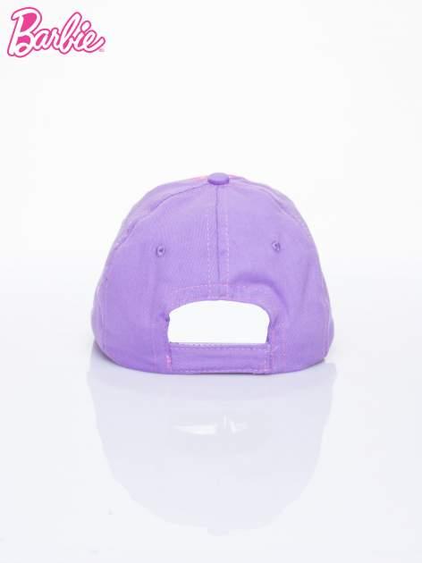 Fioletowa czapka z daszkiem dla dziewczynki BARBIE                              zdj.                              3