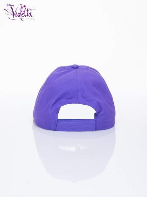 Fioletowa czapka z daszkiem dla dziewczynki VIOLETTA                                  zdj.                                  3