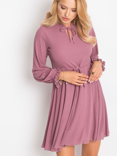 Fioletowa sukienka Forevermore                              zdj.                              1