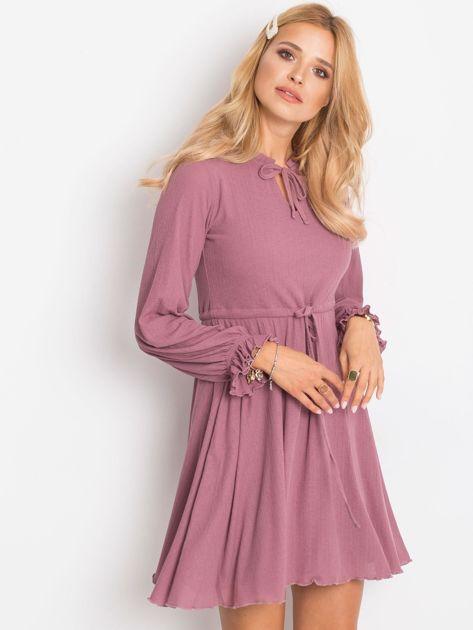 Fioletowa sukienka Forevermore                              zdj.                              5