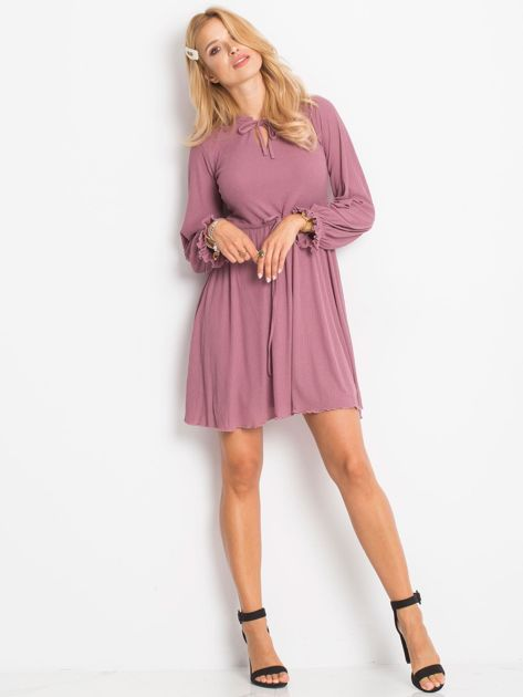 Fioletowa sukienka Forevermore                              zdj.                              4
