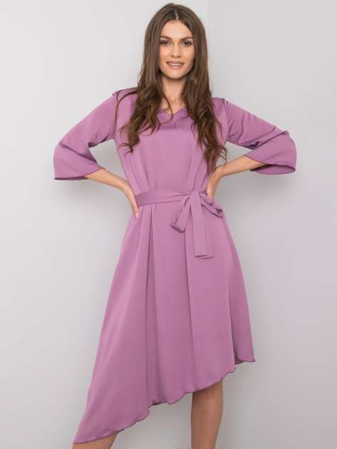 Fioletowa sukienka Imene