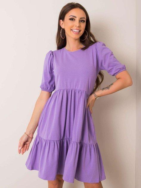 Fioletowa sukienka Perla RUE PARIS