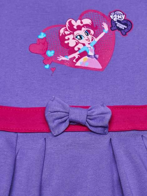 Fioletowa sukienka dla dziewczynki MY LITTLE PONY                              zdj.                              7